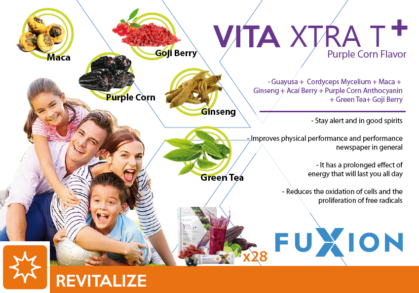 FuXion Vita XtraT+-Clean Label